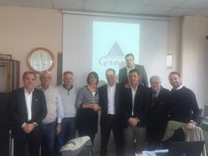 Incontro Cda Azzurro group serramentisti d'Italia uniti per la tutela del Made in Italy con l' On. Nunzia De Girolamo